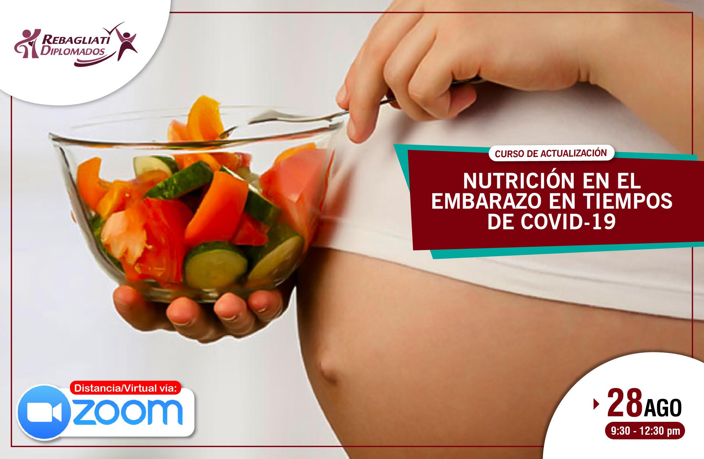 CURSO DE ACTUALIZACIÓN NUTRICIÓN EN EL EMBARAZO EN TIEMPOS DE COVID-19