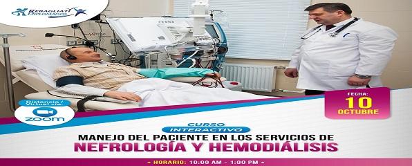 """CURSO INTERACTIVO """"MANEJO DEL PACIENTE EN LOS SERVICIOS DE NEFROLOGÍA Y HEMODIÁLISIS"""""""