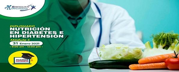 CURSO DE PERFECCIONAMIENTO PROFESIONAL NUTRICIÓN EN DIABETES E HIPERTENSIÓN