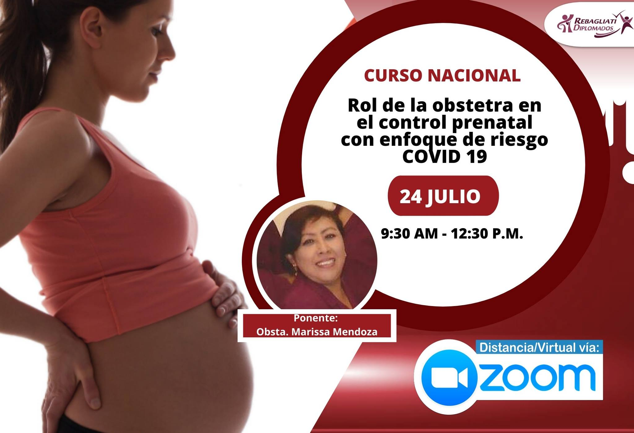 CURSO NACIONAL ROL DE LA OBSTETRA EN EL CONTROL PRENATAL CON ENFOQUE DE RIESGO COVID 19